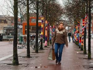 Neulegraffitia Leidenissä