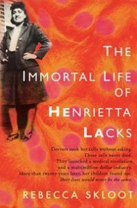 The Immortal Life of Henrietta Lacks -kansi