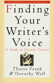 Finding your writer's voice -kansi