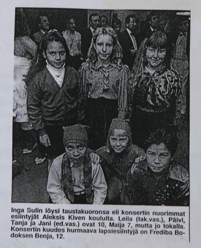 Maija lehdessä 1991