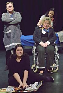 Kuva Marian ilmestykset -näytelmästä