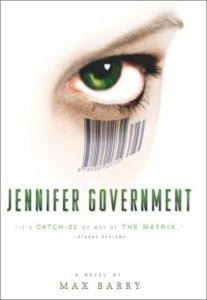 Jennifer Government -kansi