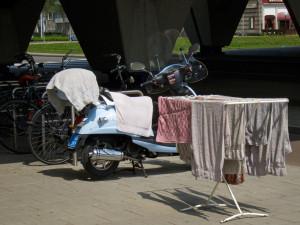 Pyykit kadulla