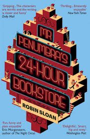 Mr. Penumbra's 24-Hour Bookstore -kansi